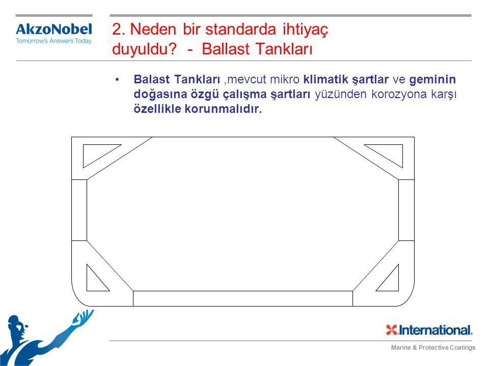 2. Neden bir standarda ihtiyaç duyuldu - Ballast Tankları