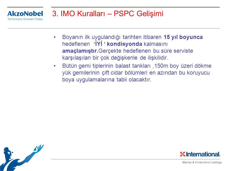 3. IMO Kuralları – PSPC Gelişimi