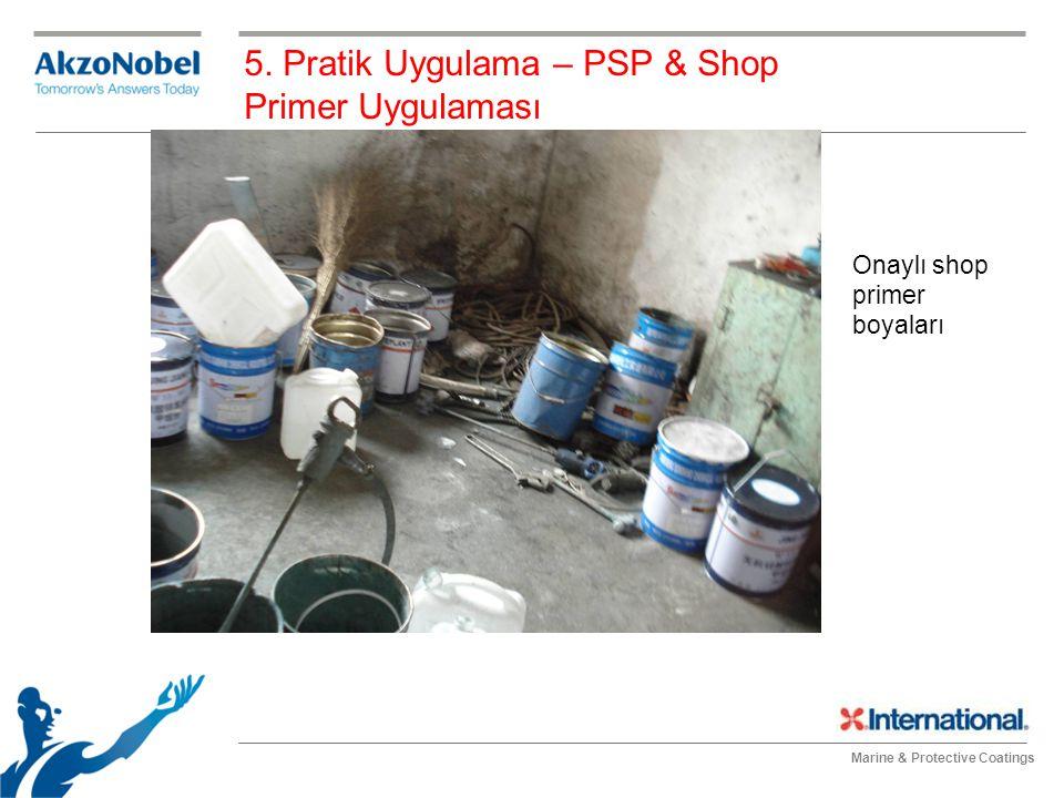 5. Pratik Uygulama – PSP & Shop Primer Uygulaması