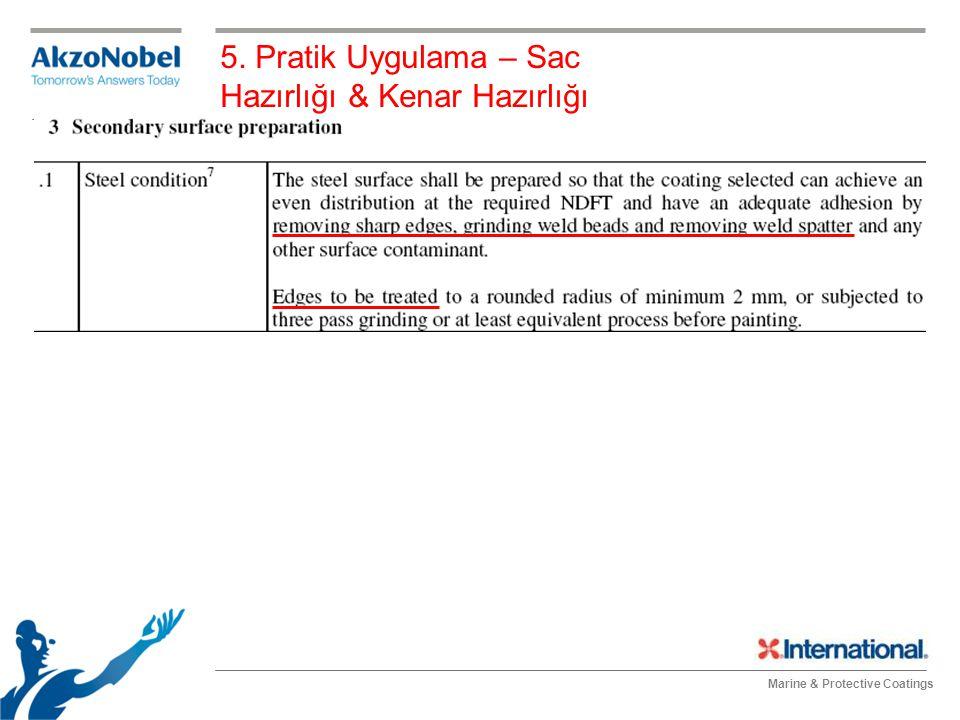 5. Pratik Uygulama – Sac Hazırlığı & Kenar Hazırlığı
