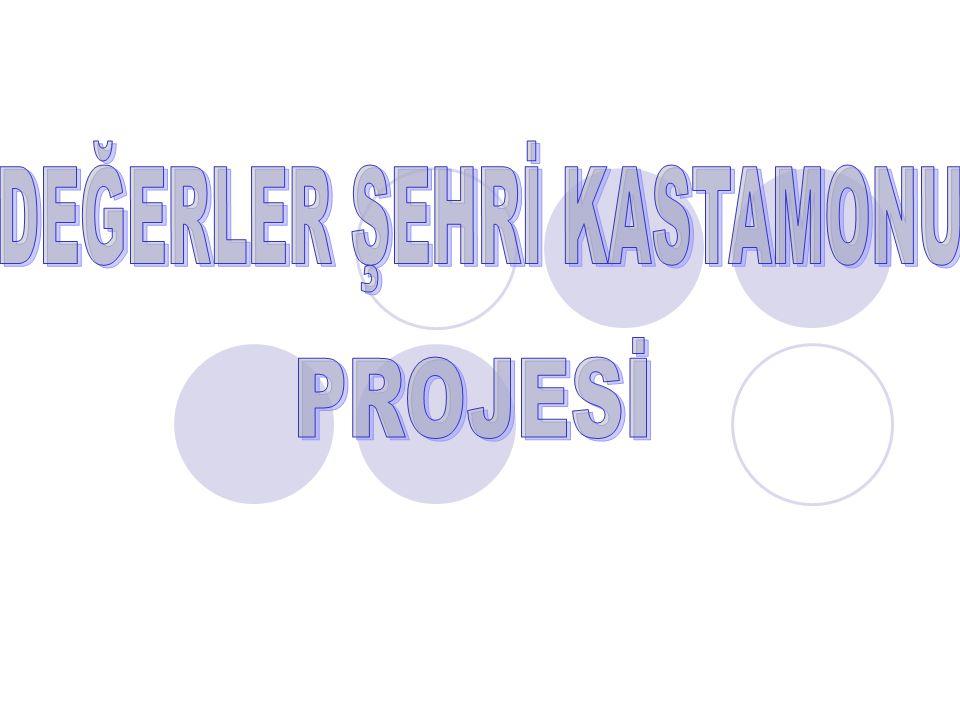 DEĞERLER ŞEHRİ KASTAMONU