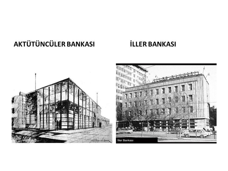 İLLER BANKASI AKTÜTÜNCÜLER BANKASI