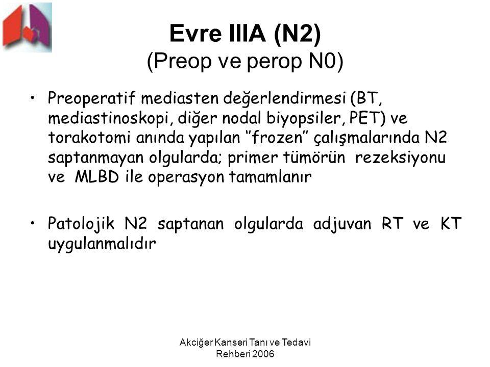 Evre IIIA (N2) (Preop ve perop N0)