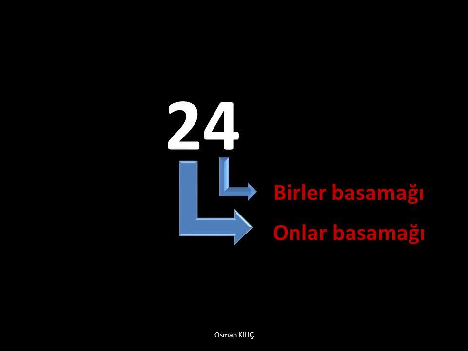 24 Birler basamağı Onlar basamağı Osman KILIÇ