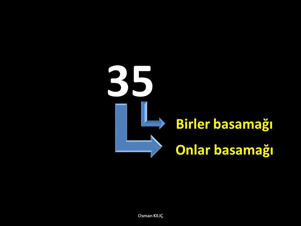35 Birler basamağı Onlar basamağı Osman KILIÇ