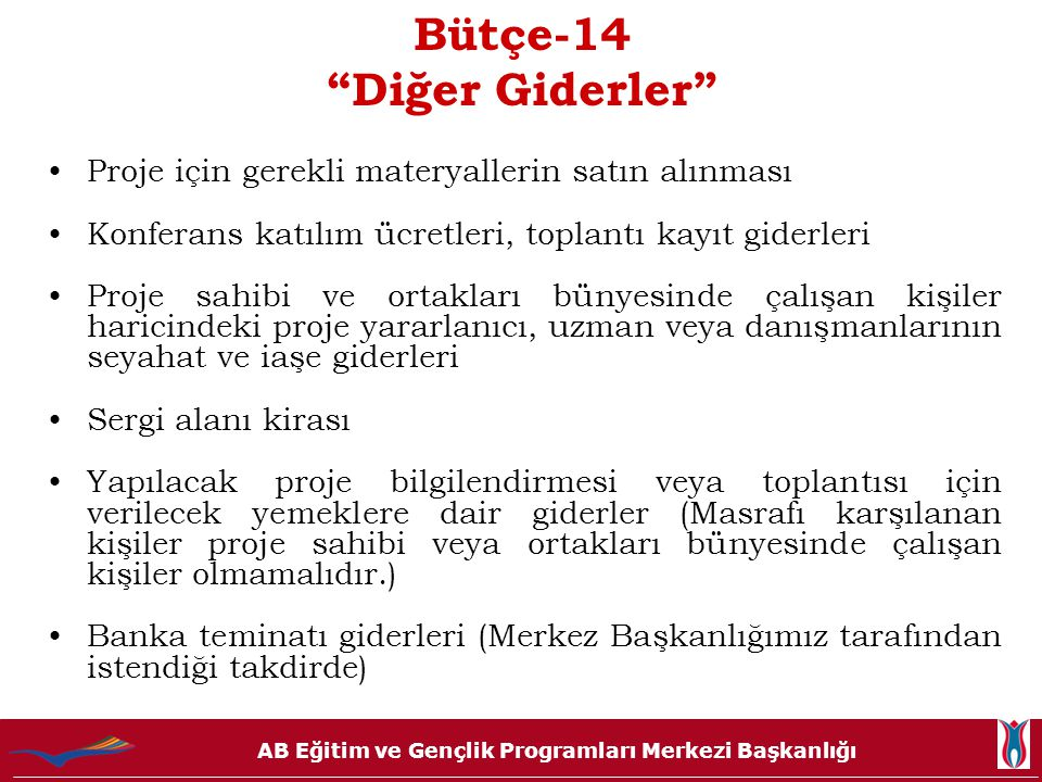 Bütçe-14 Diğer Giderler