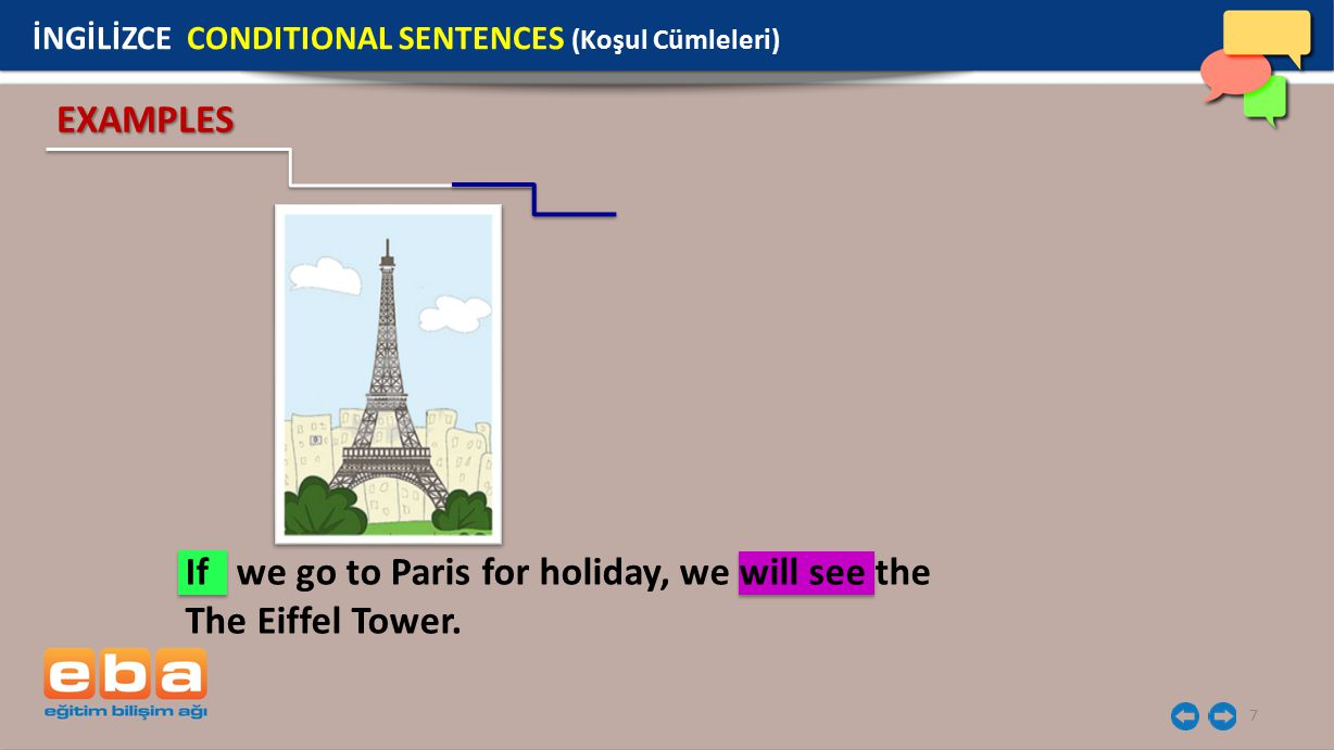 If we go to Paris for holiday, we will see the The Eiffel Tower.