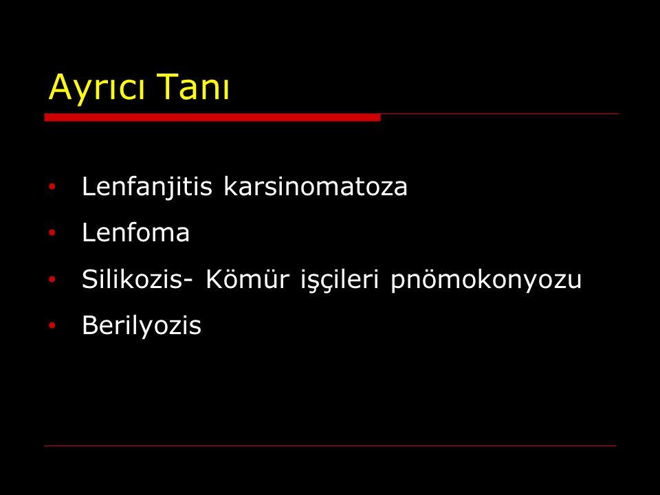 Ayrıcı Tanı Lenfanjitis karsinomatoza Lenfoma