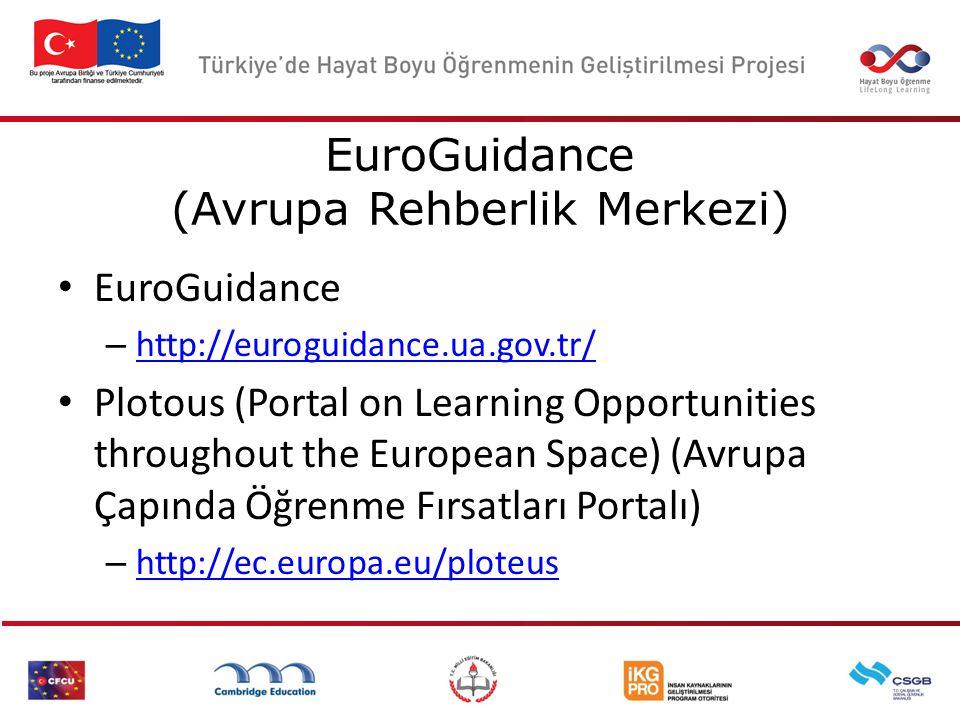 EuroGuidance (Avrupa Rehberlik Merkezi)