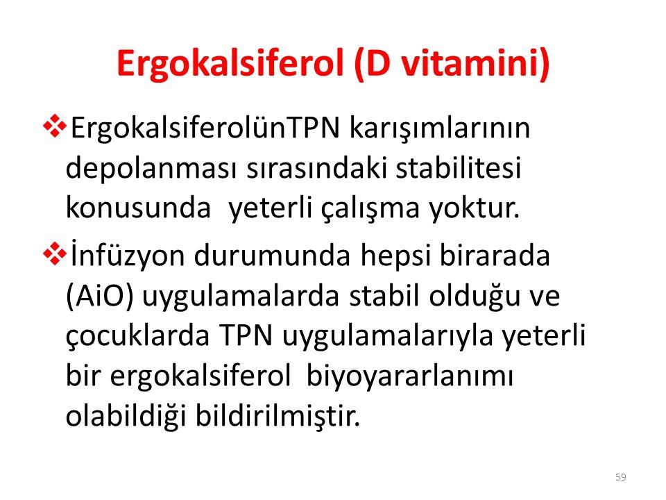 Ergokalsiferol (D vitamini)