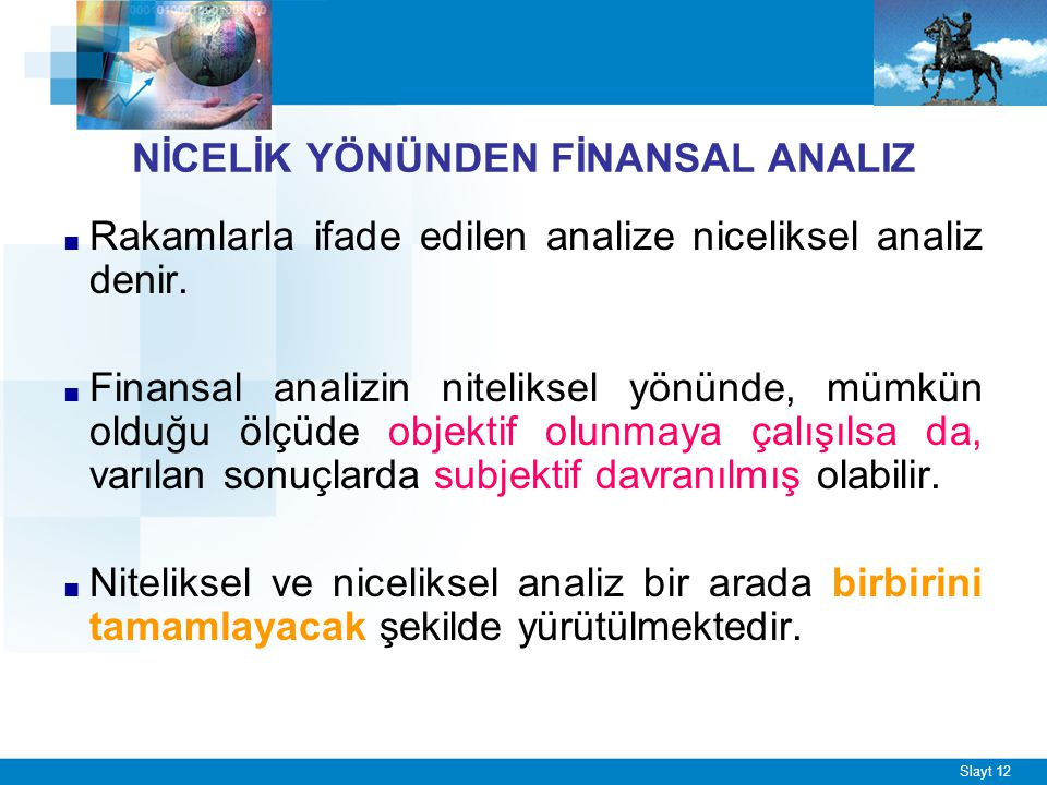 KISA SÜRELİ FİNANSAL ANALİZ