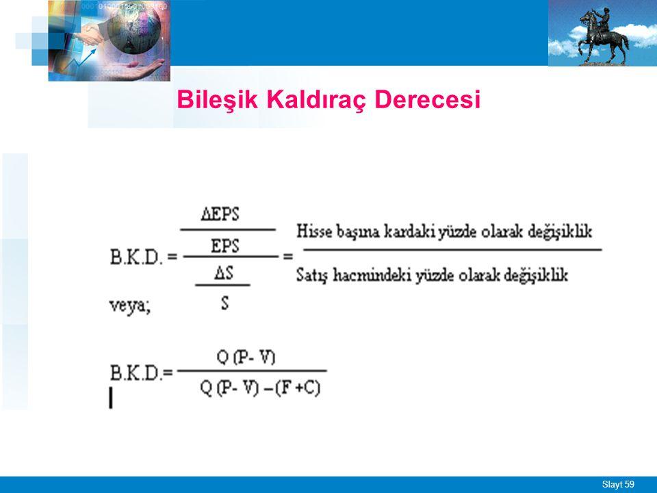 BKD = ÇKD x FKD BKD = 1,66 x 0,59 BKD = 0,9794