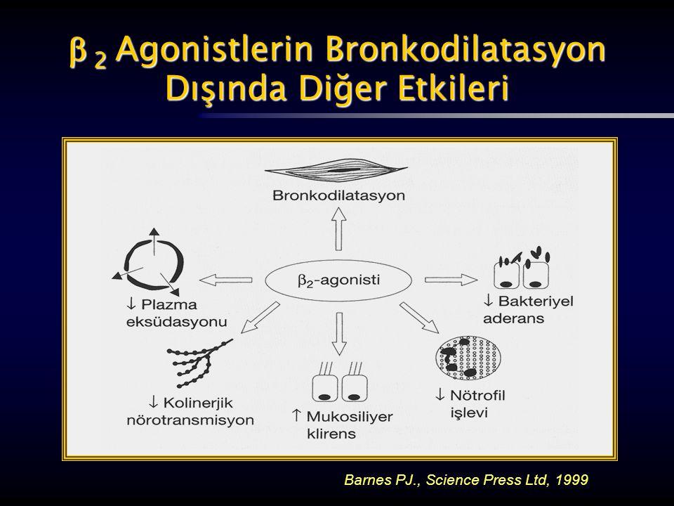  2 Agonistlerin Bronkodilatasyon Dışında Diğer Etkileri