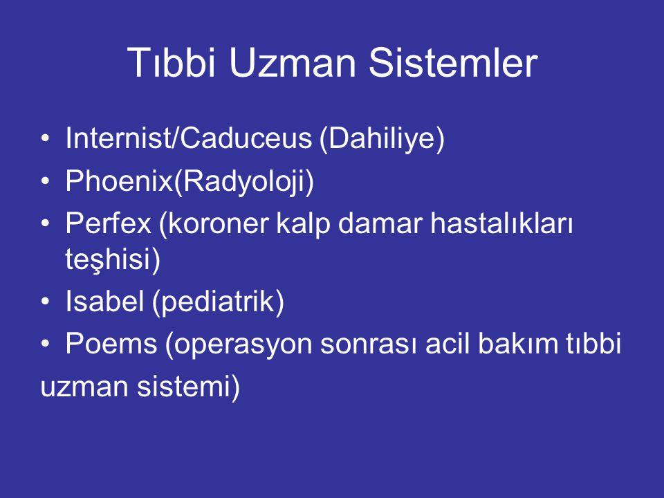 Tıbbi Uzman Sistemler Internist/Caduceus (Dahiliye) Phoenix(Radyoloji)