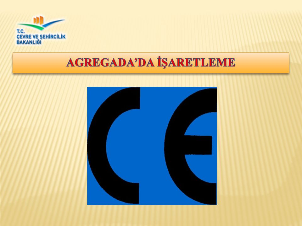 AGREGADA'DA İŞARETLEME