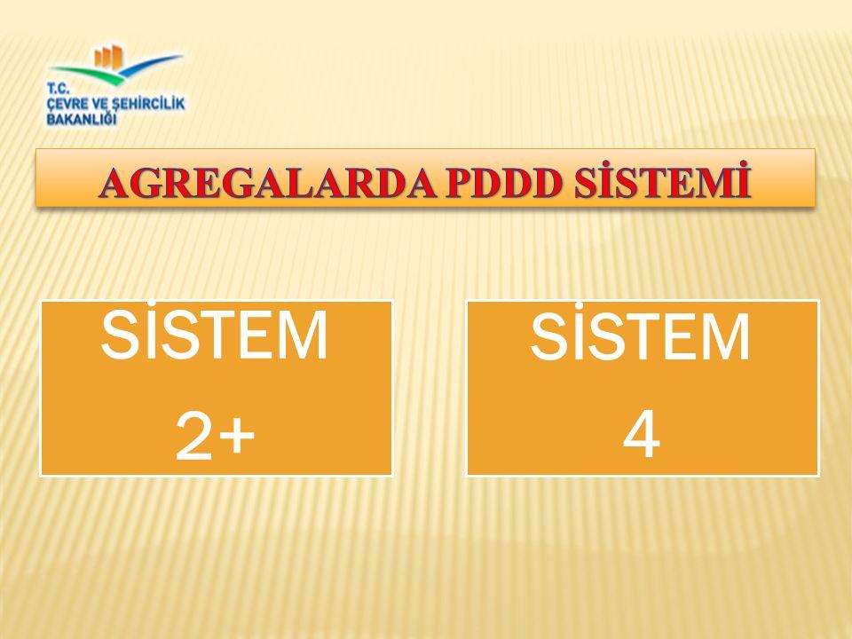 AGREGALARDA PDDD SİSTEMİ