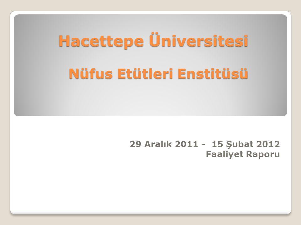 Hacettepe Üniversitesi Nüfus Etütleri Enstitüsü