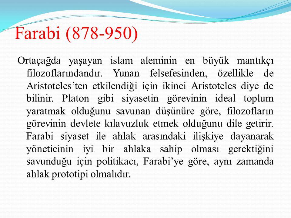 Farabi (878-950)