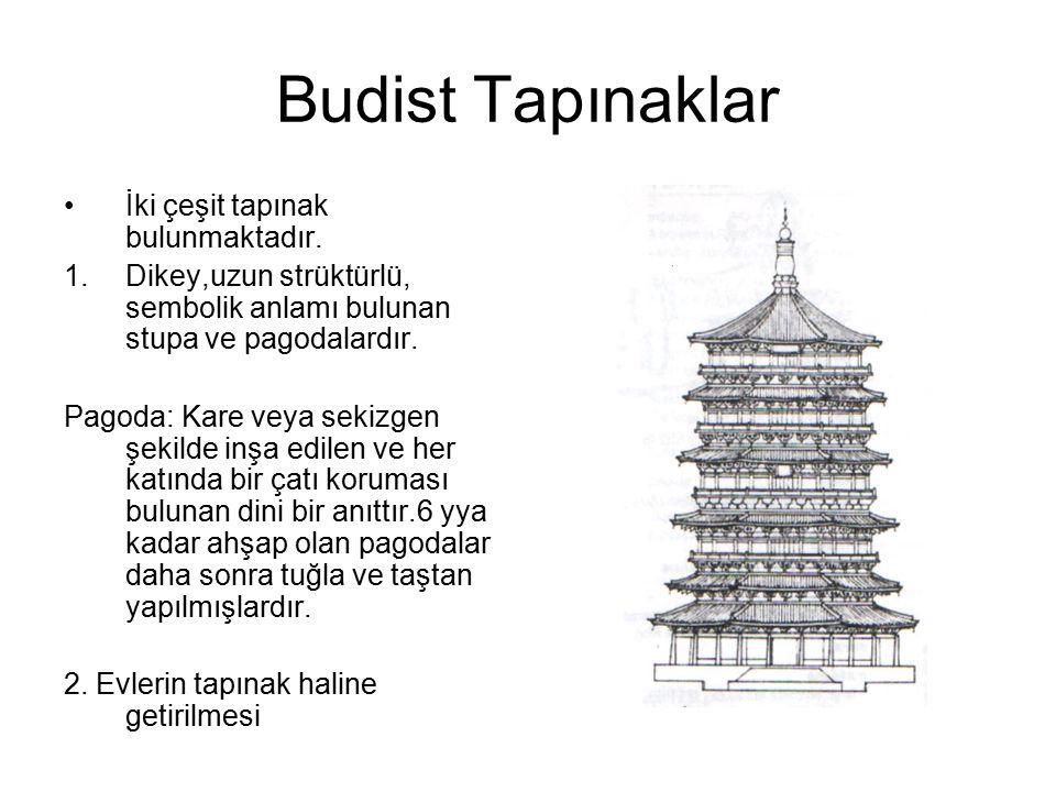 Budist Tapınaklar İki çeşit tapınak bulunmaktadır.