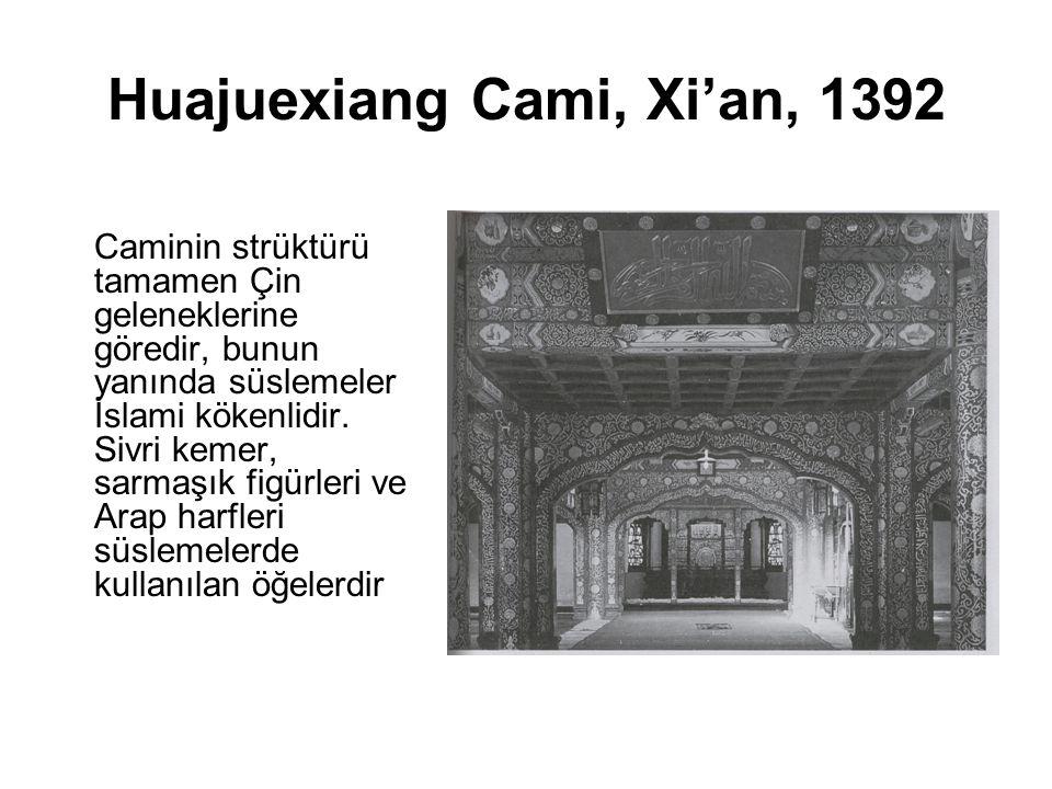 Huajuexiang Cami, Xi'an, 1392