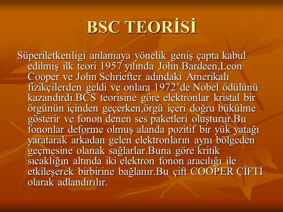 BSC TEORİSİ