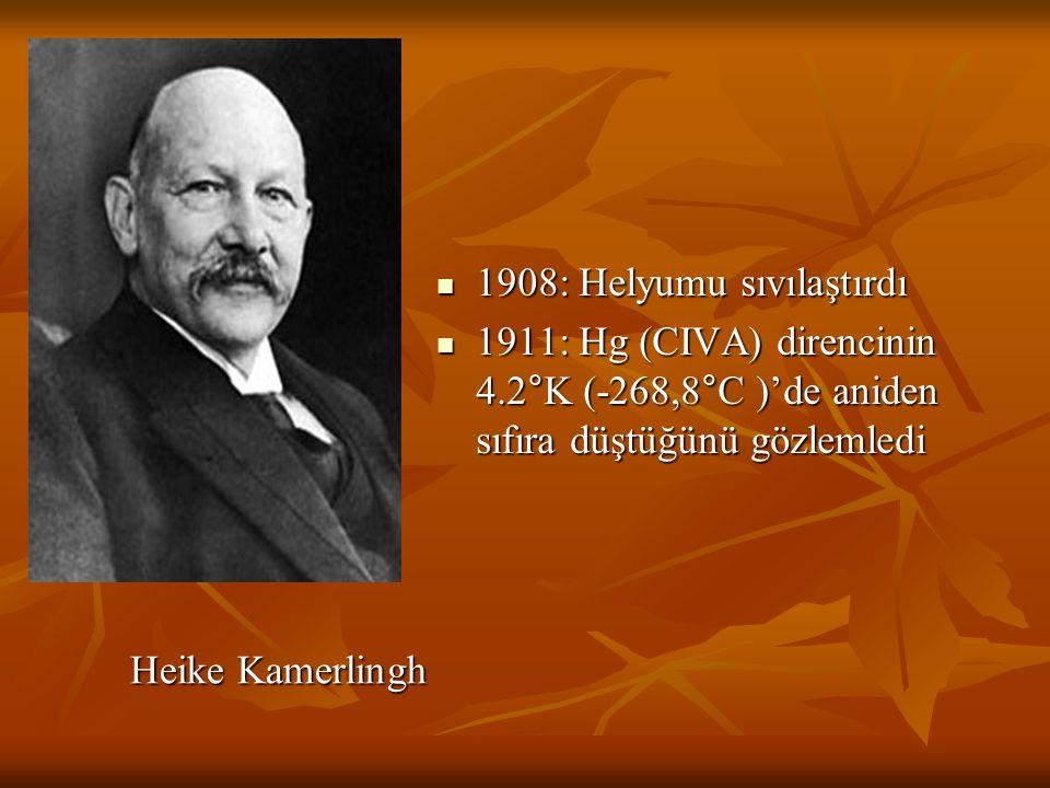 1908: Helyumu sıvılaştırdı