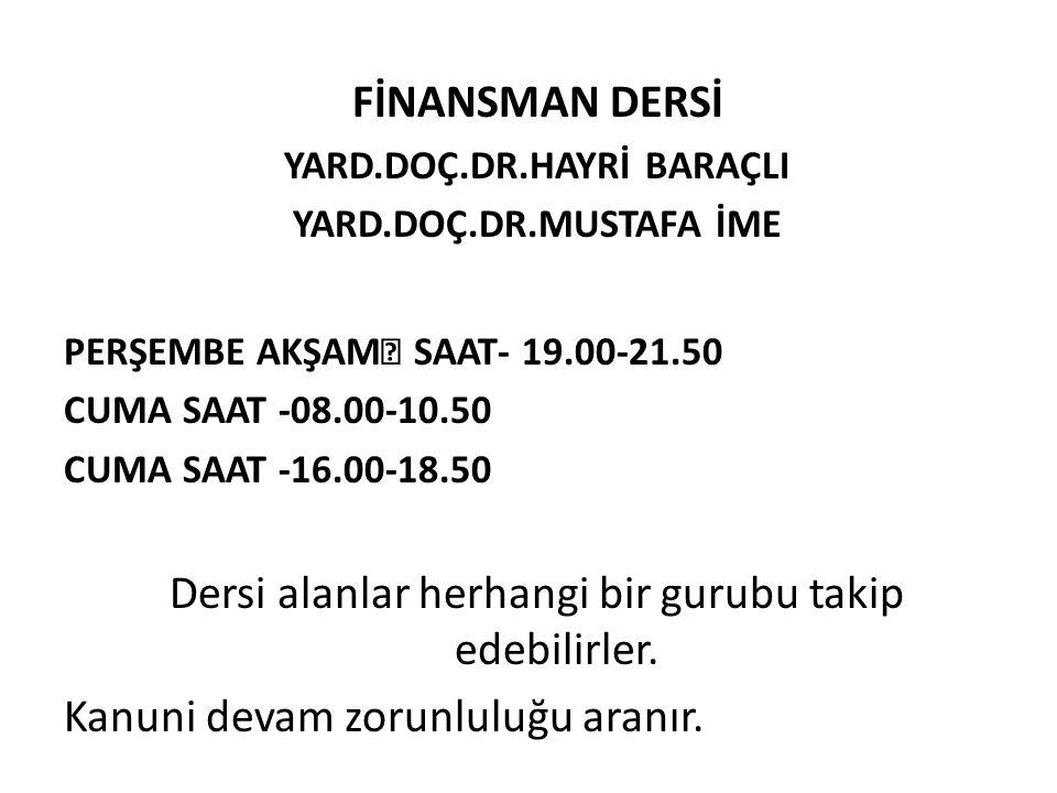 YARD.DOÇ.DR.HAYRİ BARAÇLI