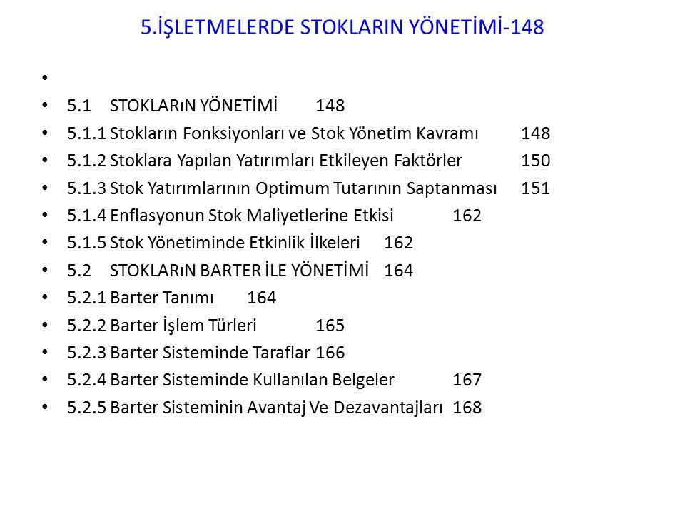 5.İŞLETMELERDE STOKLARIN YÖNETİMİ-148