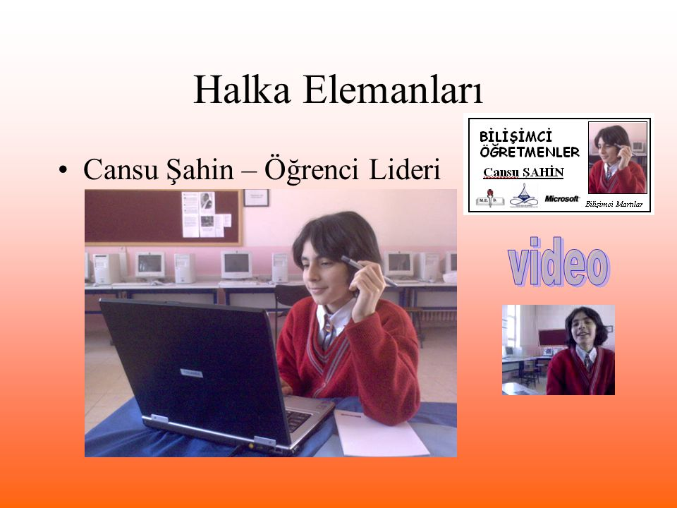 Halka Elemanları Cansu Şahin – Öğrenci Lideri video