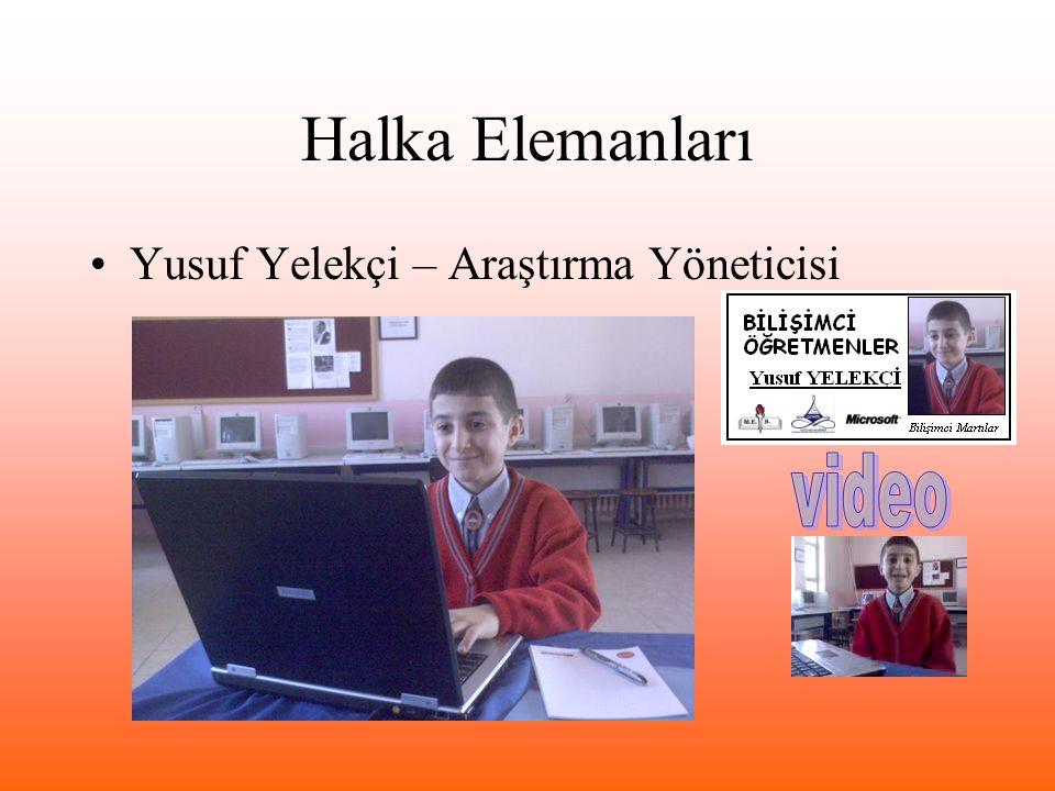 Halka Elemanları Yusuf Yelekçi – Araştırma Yöneticisi video