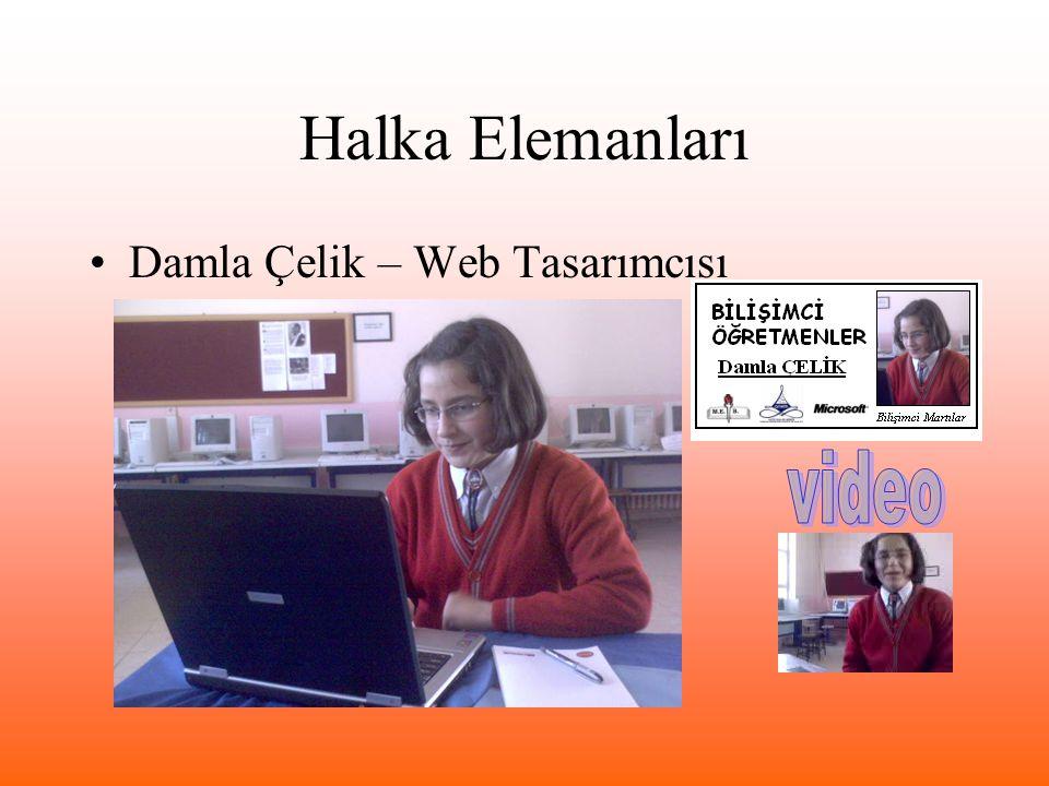 Halka Elemanları Damla Çelik – Web Tasarımcısı video