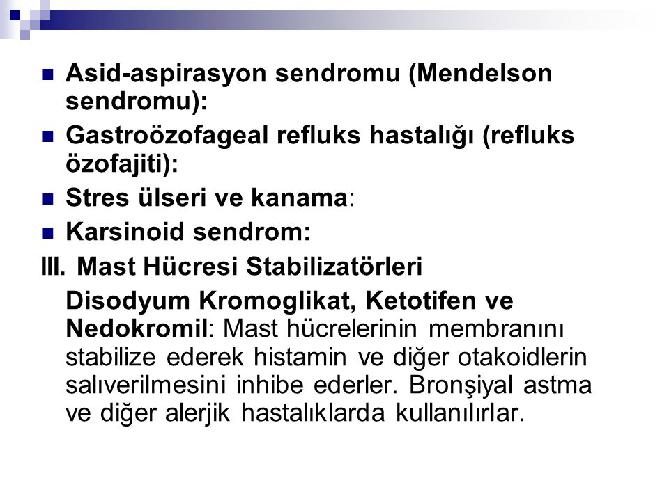 Asid-aspirasyon sendromu (Mendelson sendromu):
