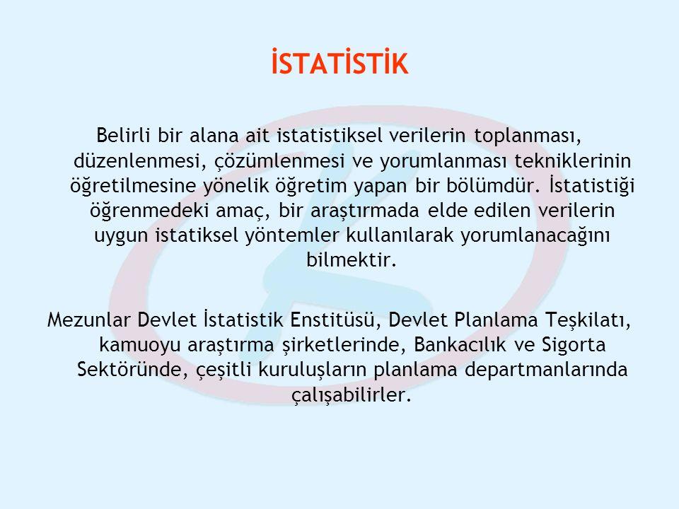 İSTATİSTİK