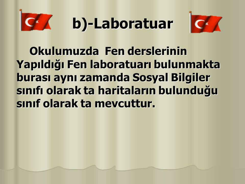 b)-Laboratuar