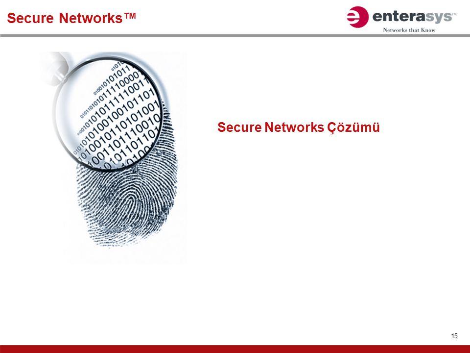 Secure Networks™ Secure Networks Çözümü
