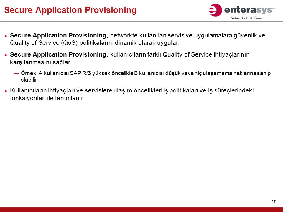 Secure Application Provisioning