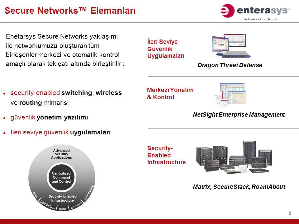 Secure Networks™ Elemanları