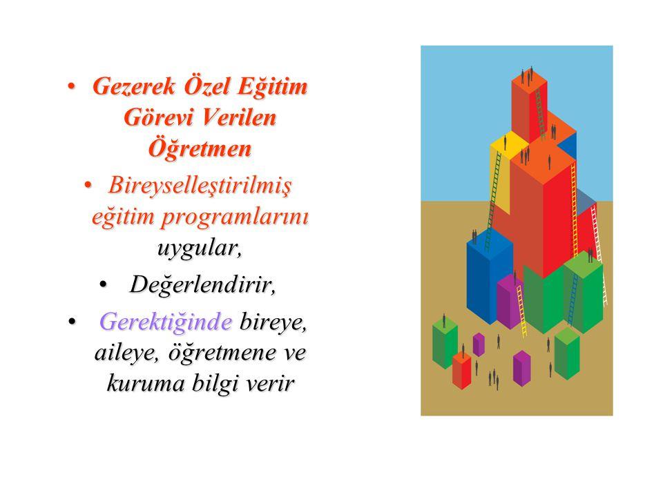 Gezerek Özel Eğitim Görevi Verilen Öğretmen