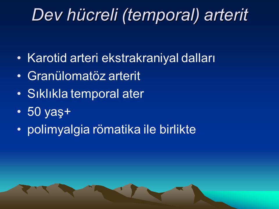 Dev hücreli (temporal) arterit