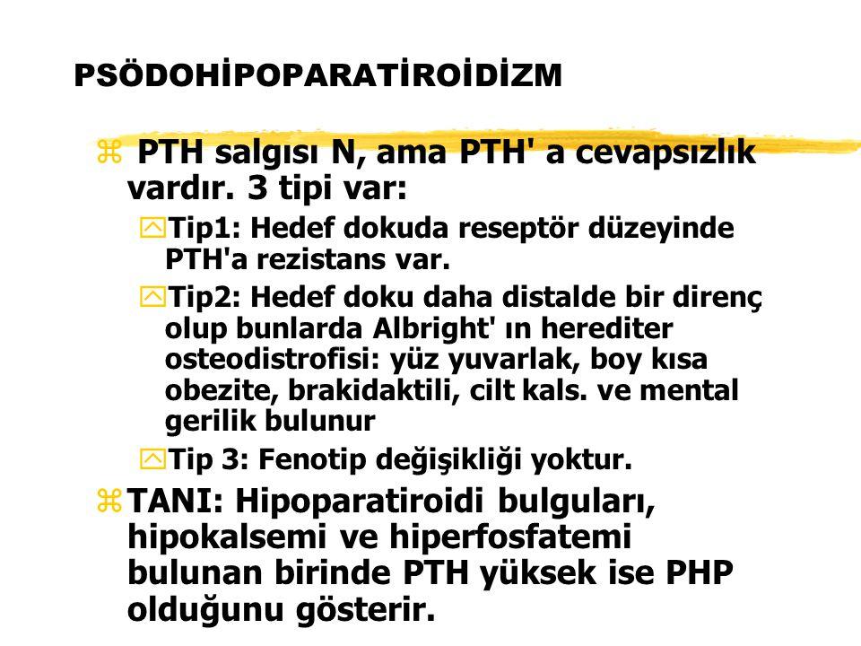 PSÖDOHİPOPARATİROİDİZM
