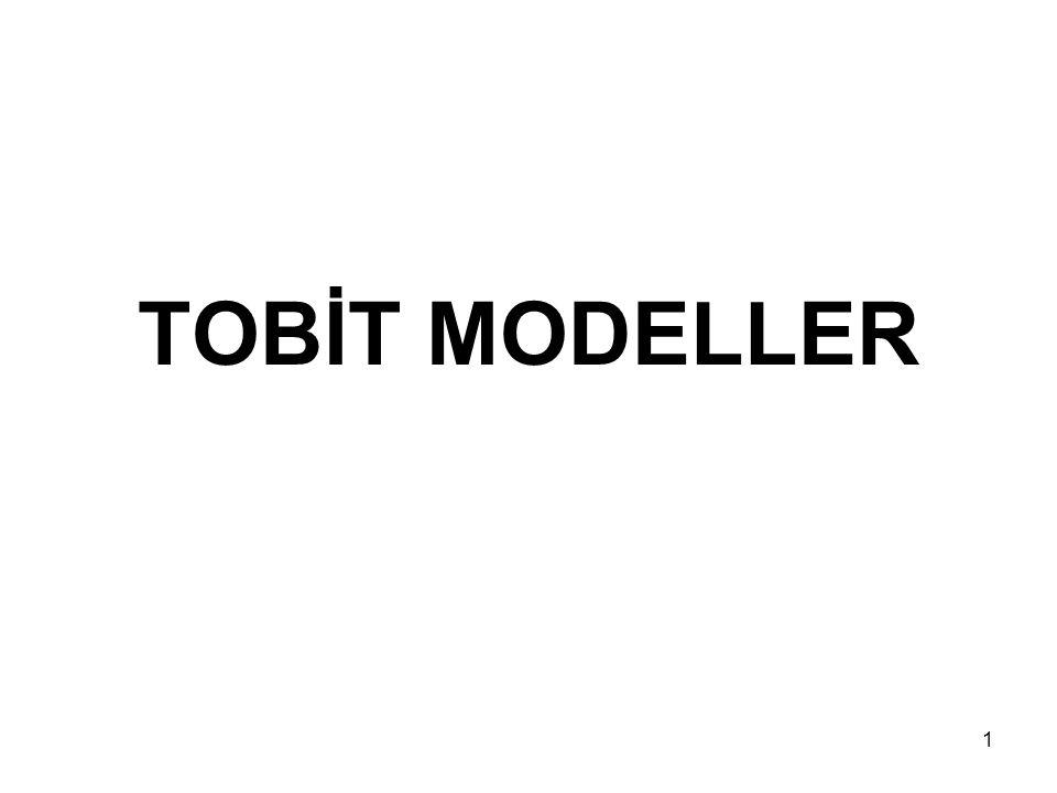 TOBİT MODELLER