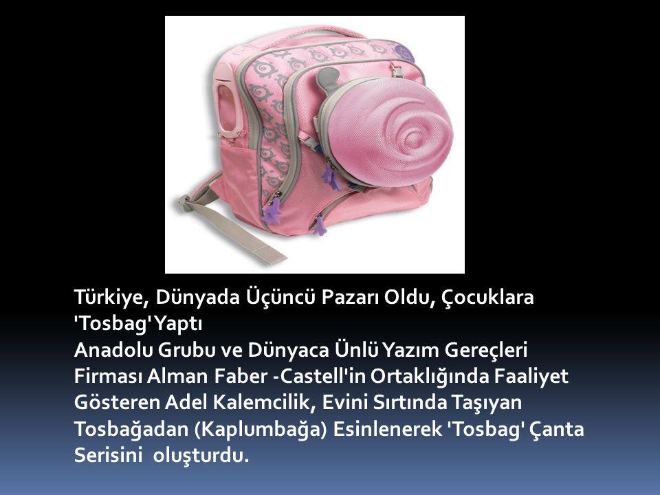 Türkiye, Dünyada Üçüncü Pazarı Oldu, Çocuklara Tosbag Yaptı