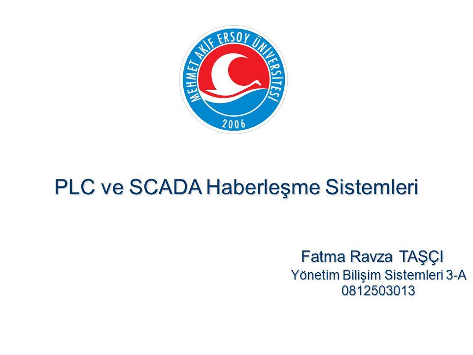 PLC ve SCADA Haberleşme Sistemleri