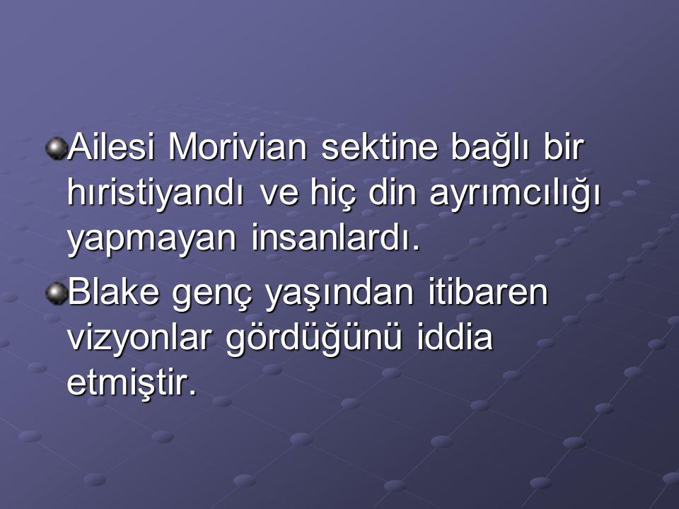 Ailesi Morivian sektine bağlı bir hıristiyandı ve hiç din ayrımcılığı yapmayan insanlardı.