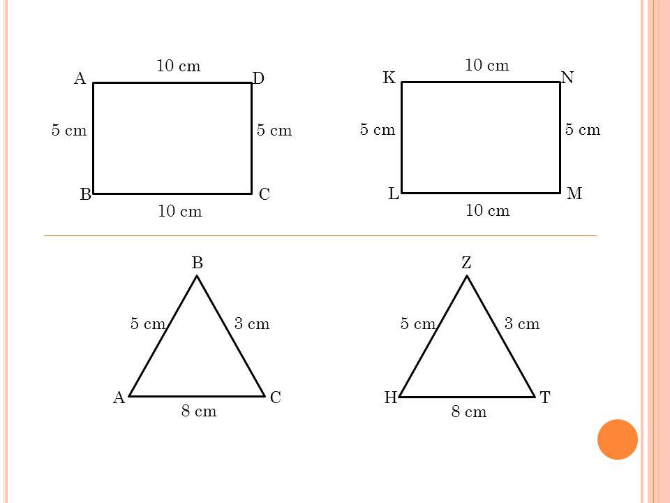 10 cm 10 cm. A. D. K. N. 5 cm. 5 cm. 5 cm. 5 cm. B. C. L. M. 10 cm. 10 cm. B. Z. 5 cm.