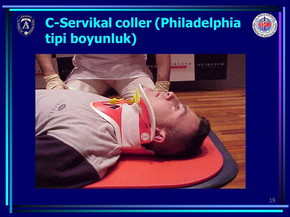 C-Servikal coller (Philadelphia tipi boyunluk)