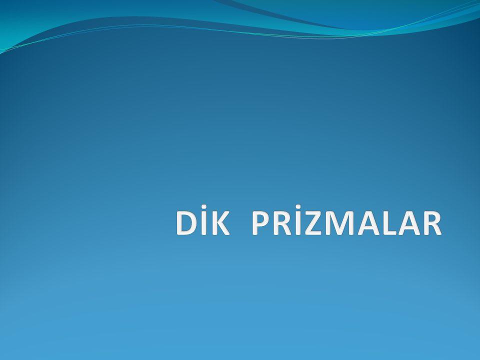 DİK PRİZMALAR