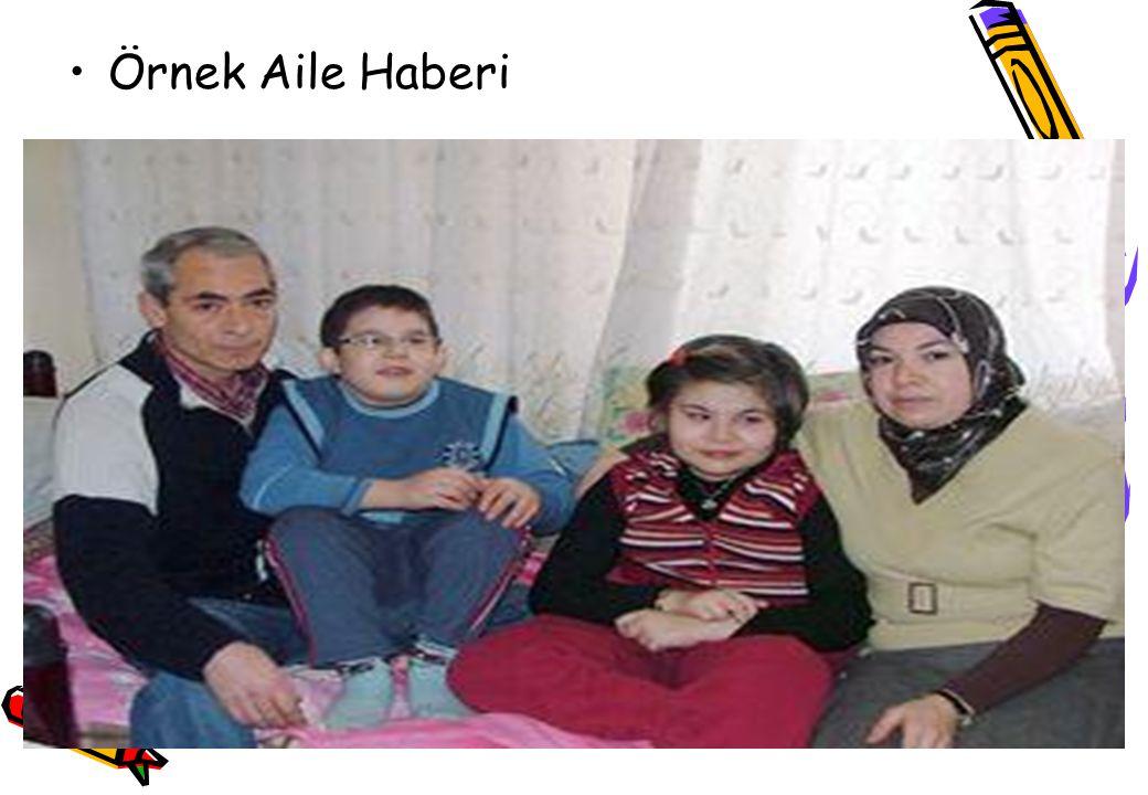 Örnek Aile Haberi