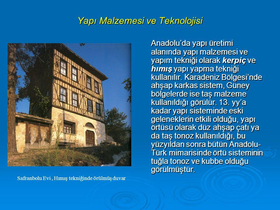 Yapı Malzemesi ve Teknolojisi