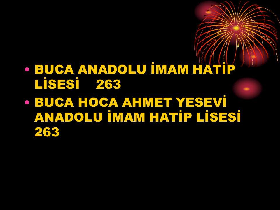 BUCA ANADOLU İMAM HATİP LİSESİ 263